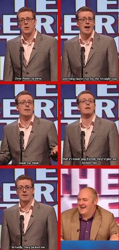 Frankie Boyle on Mock the Week Tv Funny, Funny Guys, Hilarious, Funny Stuff, British Humor, British Comedy, Still Game Memes, Man Humor, Humor Humour