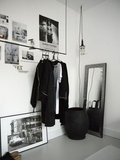 love the light idea, and the hanger.