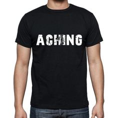 #tshirt #aching #men #black #word T-shirt time! Pick your favorites --> https://www.teeshirtee.com/collections/collection-6-letters/products/aching-mens-short-sleeve-rounded-neck-t-shirt