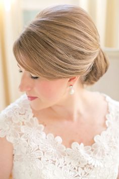 perfect Southern chignon | Jenn Hopkins