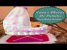 Cuna ó Moises De Pañales Para Baby Shower. Link download: http://www.getlinkyoutube.com/watch?v=Ml136GnWQ30