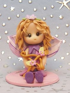 Sagittarius fairy cake topper. PERFECT!!!
