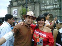 Con Alec (año 2011, quizá 2012).