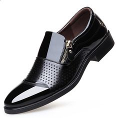 NPEZKGC 2018 Sommer Männer Aushöhlen Männer Formale Schuhe Männer  Mikrofaser Leder Qualität Schuhe Breathable Männer Schuhe 147795a150