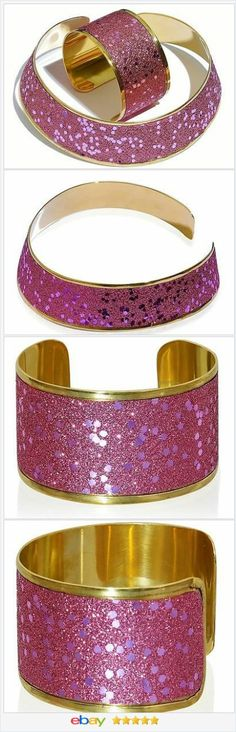 Choker and Cuff Bracelet Set Pink Stardust Crystal USA SELLER  | eBay  50% OFF #EBAY http://stores.ebay.com/JEWELRY-AND-GIFTS-BY-ALICE-AND-ANN