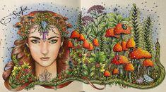 #hannakarlzon #dagdrömmar #prismacolor #posca #coloringbooks