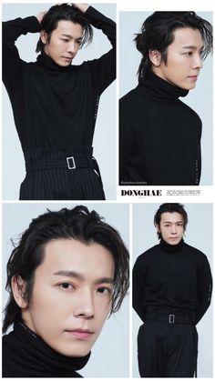 """Wallpaper/ Lockscreen Edited by: cyndimiracles Photo Cr: suju_time Lee Donghae, Siwon, Leeteuk, Heechul, Korean Men, Korean Actors, Elf, Super Junior Donghae, One More Chance"