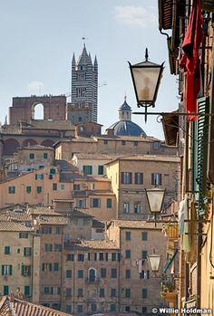 The gorgeous walled city of Sienna, Italy.  What's not to love!