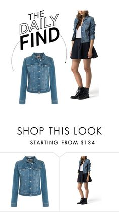 """The Daily Find: Tommy Hilfiger Jean Jacket"" by polyvore-editorial ❤ liked on Polyvore featuring Tommy Hilfiger and DailyFind"