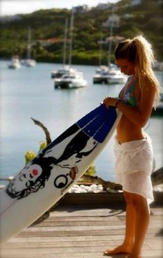 Love her board!