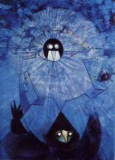 Early Max Ernst looks much like Salvador Dali's work. And then he began to create a new style seemingly every week.
