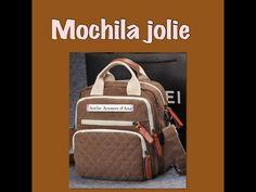 Mochila Jolie,como fazer uma mochila em costura criativa e artesanato - YouTube