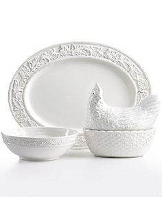 Pfaltzgraff Dinnerware, Country Cupboard Collection
