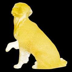 Daum Crystal Golden Retriever. Biggs Ltd. Gallery. Price $410. 1-800-362-0677.