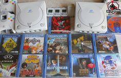 Sega Dreamcast : Tomb Raider, BlueStinger, Sonic Adventure, Grandia 2, Ready2Rumble, Conflict Zone