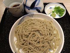 Buckwheat noodles Buckwheat Noodles, Spaghetti, Ethnic Recipes, Food, Meals, Yemek, Noodle, Eten