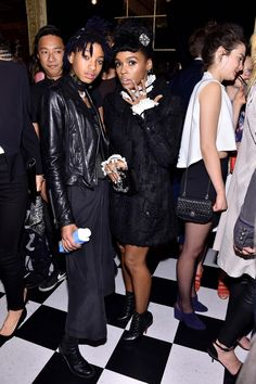 Willow Smith and Janelle Monáe