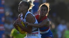 AFLW, AFL Womens: Adelaide Crows run away winners over the Western Bulldogs at Whitten Oval in Round 2 | Herald Sun