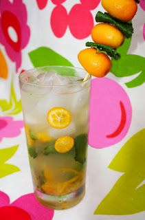 Kumquat & Meyer Lemon Mojito