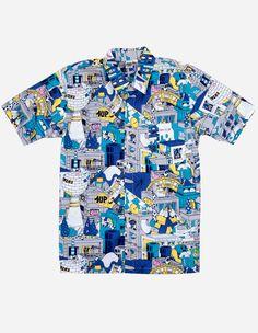 1Up - 1Up X Lousy Livin Hemd blau