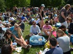 AID 2012 Picnic lunch