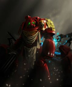 Warhammer 40k Art by Bayu Pratama - Terminator