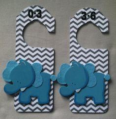 baby closet dividers elephant nursery closet by craftcraftbaby