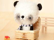 Panda bear - made to order -
