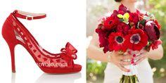 Zapatos de novia Alexis rojo en www.egovolo.com