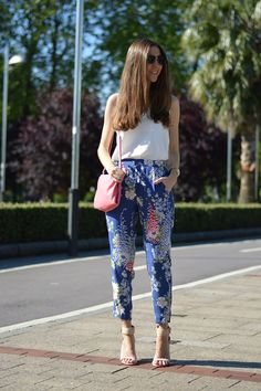 Love these printed bottoms.