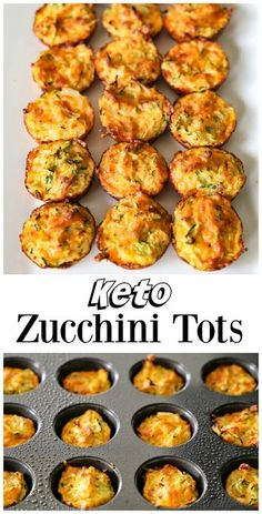 keto Zucchini Tots make a great low-carb snack or side dish. They a These simple keto Zucchini Tots make a great low-carb snack or side dish. -These simple keto Zucchini Tots make a great low-carb snack or side dish. Healthy Diet Recipes, Keto Snacks, Low Carb Recipes, Healthy Snacks, Cooking Recipes, Salad Recipes, Vegan Recipes, Low Carb Vegetarian Recipes, Easy Recipes