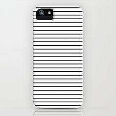 Minimal Stripes iPhone & iPod Case