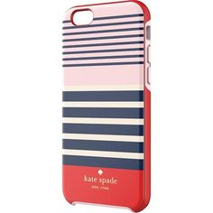 kate spade new york - Laventura Hybrid Hard Shell Case for Apple® iPhone® 6 - Red/Navy/Blush - Larger Front