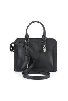 ALEXANDER MCQUEEN Small Padlock Bag. #alexandermcqueen #bags #shoulder bags #hand bags #lining