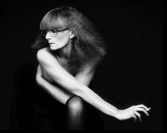 Sonia Rykiel 1980 - Photographe Dominique Issermann http://www.vogue.fr/thevoguelist/sonia-rykiel-1/214