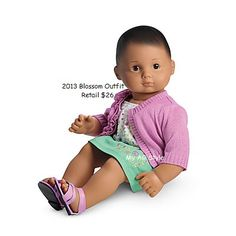 American Girl Doll Brand Bitty Baby Blossom Outfit