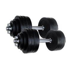 105 lbs Adjustable Cast Iron Dumbbells