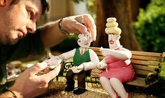 Aardman Animations. Created things such as Morph, Wallace and Gromit, Creature Comforts and Chicken Run, which was their 1st feature film.