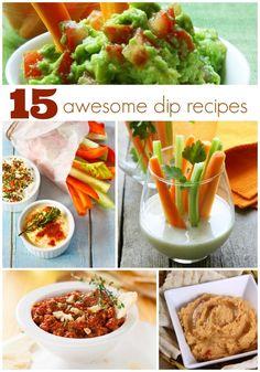 Football Party Food Ideas Dip Recipes www.spaceshipsandlaserbeams.com