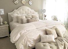 Fantastisch Traum Schlafzimmer, Schlafzimmer Mit Schrank, Schöne Schlafzimmer,  Schlafzimmerdeko, Schlafzimmer Ideen, Schlafzimmerdesign, Schlafzimmer,  Bett Kopfteile, ...