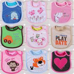 Aliexpress.com: Comprar 0 3 años del bebé baberos babero infantil de la Saliva toallas recién nacido baberos ropa de toalla babero fiable proveedores en Dream Baby