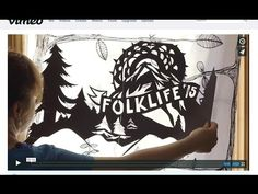 Northwest Folklife: Meet Your Neighbor - Dejah Leger - Crankie Artist
