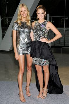 Karolina Kurkova and Cody Horn were both guests of Michael Kors, so were naturally dressed by the designer.