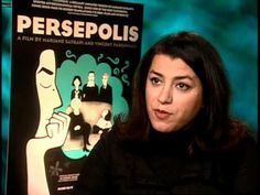 IRANIAN ACCENT*. Satrapi was born in Rasht and grew up in Tehran in a middle-class Iranian family. *As a teenager she studied in Vienna, Austria.  Her native language is Persian. She also speaks French, English, Swedish, German and Italian.▶ Persepolis - Exclusive: Marjane Satrapi - YouTube