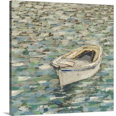Found it at Wayfair - On the Pond II by Megan Meagher Painting Print on Canvas
