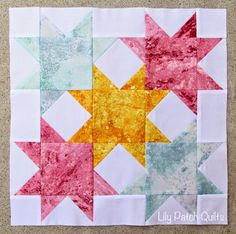 Happy Monday!!! I had sew much sewing done over the weekend. I was determined to finish my Wishes Quilt Along  blocks from the Fat Quarte...