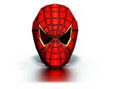 Маска человека-паука своими руками из бумаги схема