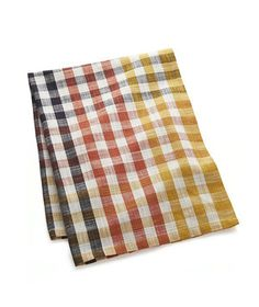 Pretty and autumnal, this tonal towel will help dry the dishes when the day is done and will be usable throughout the entire season.