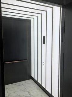 Image result for white lift interior