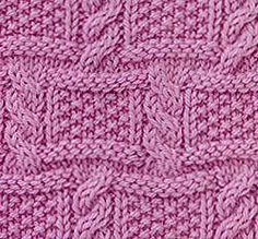 Cables and moss checks knit stitch. More Great Patterns Like This Cables and moss checks knit stitch. More Great Patterns Like ThisHarry Potter Hogwarts KapuzenpulloverEm.State of Art Modern Classics Pullover, Moul. Dishcloth Knitting Patterns, Knitting Stiches, Knitting Books, Knitting Charts, Sweater Knitting Patterns, Knitting Designs, Knit Patterns, Stitch Patterns, Vogue Knitting
